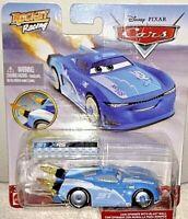 PIXAR CARS 2020 ROCKET RACING XRS #31 CAM SPINNER 1/50 CAR W/BLAST WALL NEW! HTF
