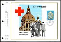 MONACO CEF 1977 ROTES KREUZ RED CROSS CROIX-ROUGE LTD. ONLY 5.500 !! zc89