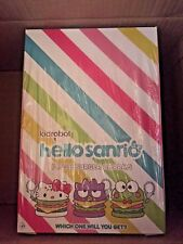 Kidrobot Hello Kitty Sanrio Burger Charms SEALED CASE