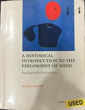 A Historical Introduction to the Philosophy of Mind by Peter A. Morton