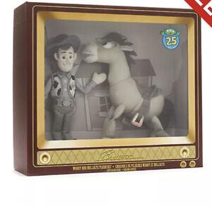 Disney Toy Story Woody And Bullseye Limited Edition Plush Toy Set Pixar