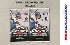 2x 2019 Topps Chrome Pack(Fernando Tatis Alonso Guerrero Rookie RC Trout AUTO)?
