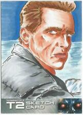 Terminator 2 Judgment Day Sketch Card drawn by Scott Fellows