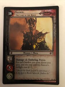 LOTR TCG CCG Sauron, The Lord Of The Rings 9R+48 Foil Reflections Unplayed