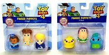 Toy Story 4 Finger Puppets 2 Pack Buzz Woody Disney Pixar