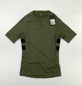RAPHA Brevet Olive Green Base Layer Size Small New