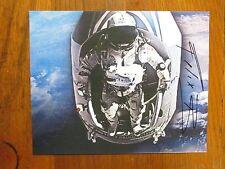 """FELIX  BAUMGARTNER  (""""Fearless  Felix""""/BASE  Jumper) Signed  8 x 10 Color Photo)"""