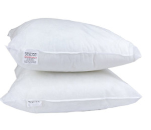 2 Pack of 18 x 18 Inch Sofa Cushion Pad Square hollowfiber Cushion Inner 45x45cm