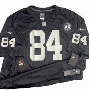 Nike NFL Las Vegas Raiders Antonio Brown Jersey #84 60th Anniversary Limited 3XL
