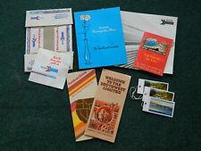 Vintage Amtrak Railroad Train Paper Advertising Items Booklets Pamphlets!