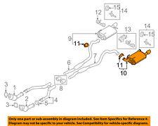 FORD OEM 11-14 Mustang 5.0L-V8-Muffler DR3Z5230F