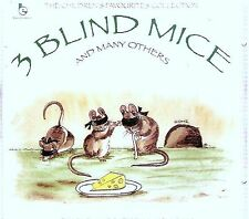 3 (THREE) BLIND MICE AND MANY OTHERS - NURSERY RHYMES & STORIES CD -FREE POST UK