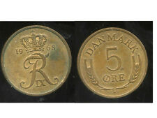 danemark  5 ore 1968