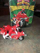 Tyrannosaurus Rex Battle Bike W Box MMPR Power Rangers 1993 Bandai