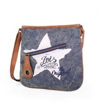 Bolso bandolera oferta Colección Stars de la marca Lois color azul vaquero