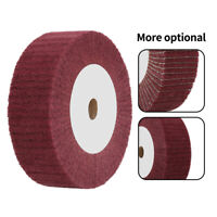 "4""-12""  Non-woven Flap Abrasive Wheel for Burnishing  Grinding Wood Furniture"