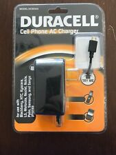 Genuine Duracell Cell Phone AC Charger DC5343 for Micro USB Devices