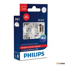 PHILIPS X-tremeUltinon P21W LED Bombilla de señalización Rojo 12898RX2 Set