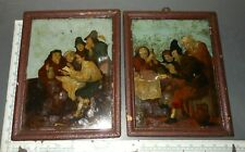 Antique Reverse Paintings on Glass
