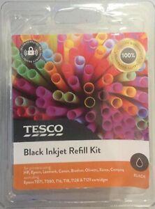 Brand New Boxed Tesco Black Inkjet Refill Kit
