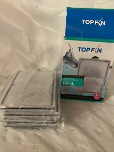 TOP FIN SILENSTREAM PF-L Filter Cartridge 4 Count Refill PF20 30 40 75 2 MISSING