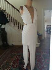 Women's Grecian Style Long Dress Cut Out size uk 10