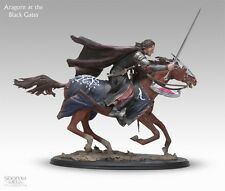 Aragorn On Steed At Black Gates Sideshow Weta Lord Of The Rings Statue Figure