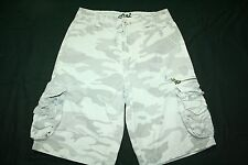 Men's Billabong camo cargo shorts tag size 27