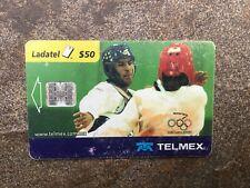 Vintage Collectable Mexico Olympics 2000 Ladatel $50 TELMEX Phone Card