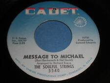 The Soulful Strings: Message To Michael / The Sidewinder 45