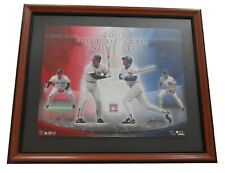 Upper Deck ~ 2005 HOF Boggs & Sandberg Numbered Print Framed $250 NIB