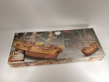 Mantua Model 776 Hms Victory 1:98 Scale Model Kit Italy Complete See Pictures