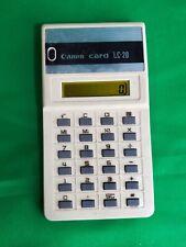 Canon Card LC-20 Calculator