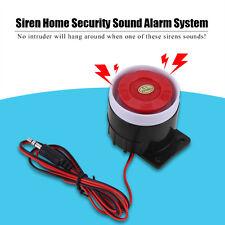 Loud Horn Backup Siren 12V DC 110dB Speaker For Car Van Truck Home Alarm System