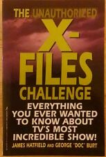 The Unauthorized X-Files Challenge Softcover by James Hatfield & George Doc Burt