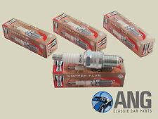 AUSTIN HEALEY 100-4 BN1-BN2 '53-'56 CHAMPION N9YC COPPER CORE SPARK PLUGS x 4