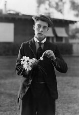 Famous Movie Film Star Buster Keaton Print   Poster
