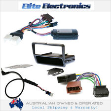 FORD FALCON AU 2000-02 SERIES 2-3 STEERING WHEEL CONTROL + ISO HARNESS + FACIA