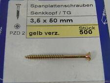 3,5 x 45 Torx (TX15, TG) Spanplattenschrauben 500 Stück NEU