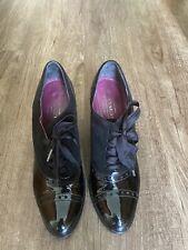 Womens Black Coach High Heel Shoes Size 7