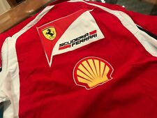 Authentic 2011 Scuderia Ferrari Marlboro F1 Team Issue Puma Shirt