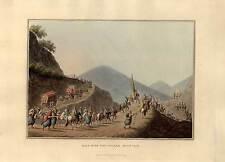 Los Balcanes-aquatinta-bowyer-Luigi Mayer 1810