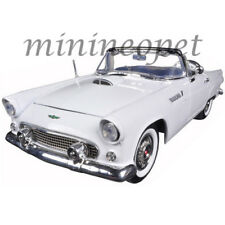MOTORMAX 73173 1956 56 FORD THUNDERBIRD CONVERTIBLE 1/18 DIECAST MODEL WHITE