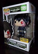 Funko Pop Yuichiro (DEMON) Seraph Of The End Hot Topic Exclusive READY TO SHIP
