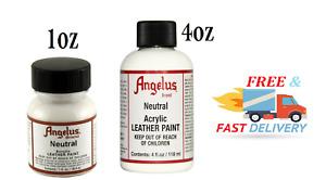 Angelus Brand Acrylic Leather Paint - 1oz / 4o - Neutral