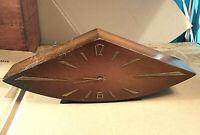 Clock Winding Mechanism  Wood Table Vintage Soviet Russian USSR
