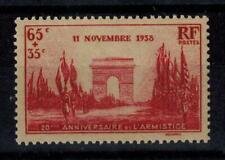 (a22) timbre France n° 403 neuf** année 1938