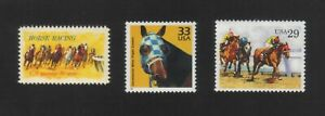 Secretariat & Kentucky Derby Horse racing - US postage stamps - Mint condition