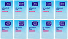 10 x Clean and & Clear Oil Control Film Blotting Paper Face 600 sheets Free Ship