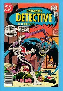 DETECTIVE COMICS # 468 VFN (8.0) BATMAN - MARSHALL ROGERS ART - CENTS - 1977